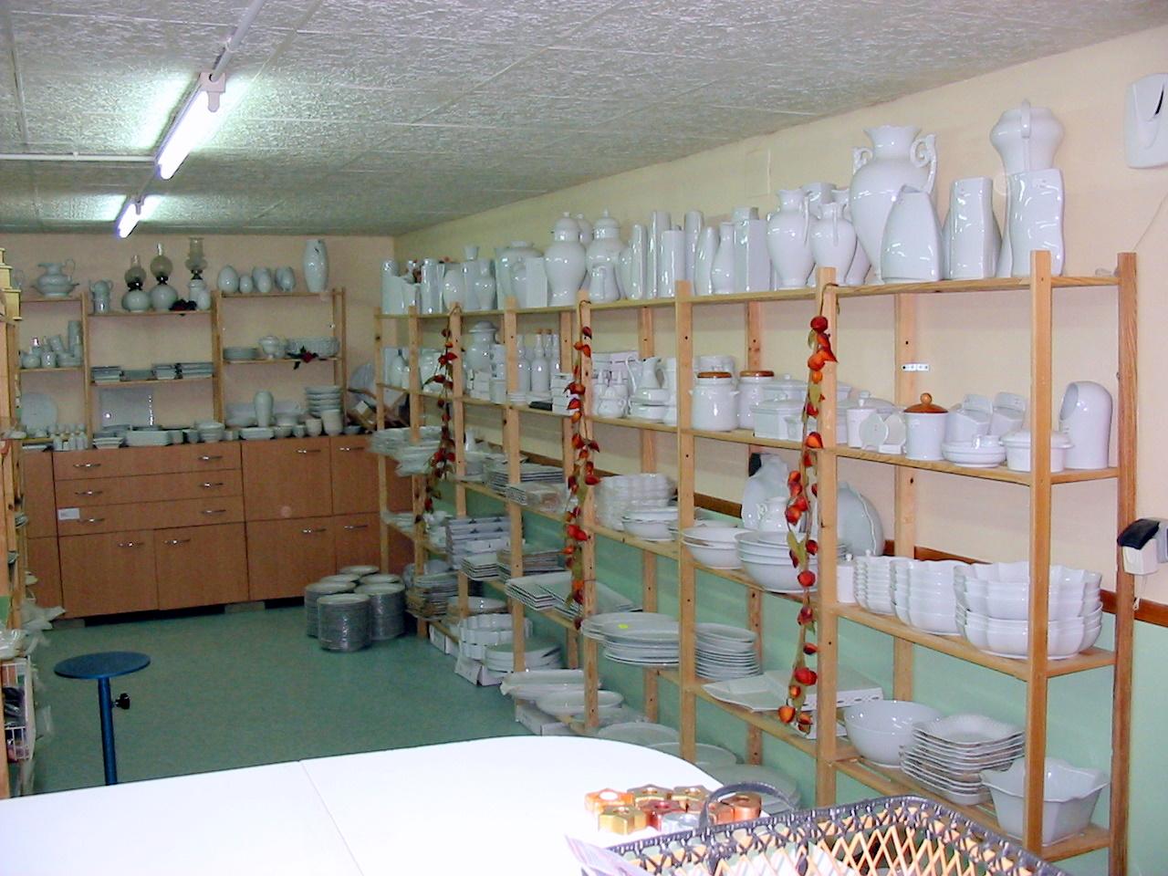 La boutique de porcelaine blanche - La porcelaine blanche ...